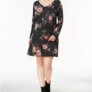 BCX Floral Lace Dress